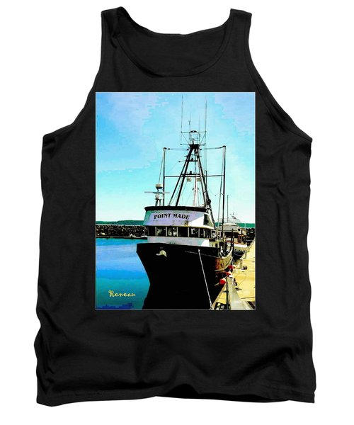 Point Made At Pt Townsend Wa Tank Top