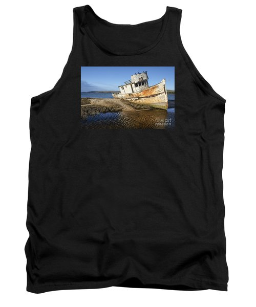Point Reyes Shipwreck Tank Top by Amy Fearn