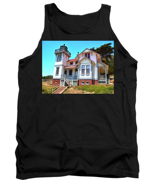 Tank Top featuring the photograph Point San Luis Lighthouse by Floyd Snyder
