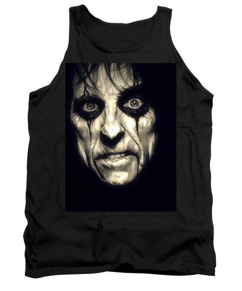 Poison Alice Cooper Tank Top by Fred Larucci