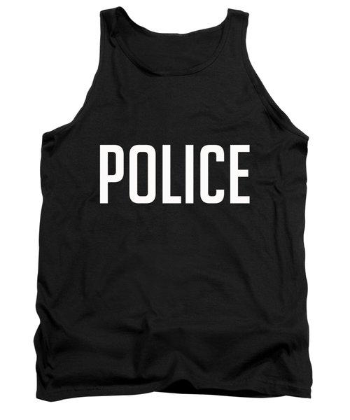 Police Tee Tank Top
