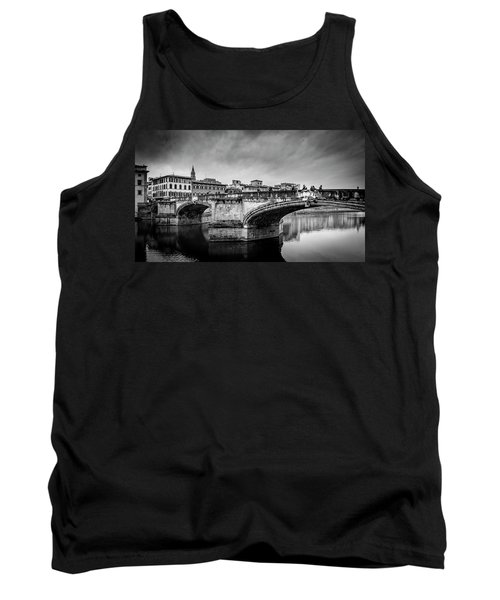 Tank Top featuring the photograph Ponte Santa Trinita by Sonny Marcyan