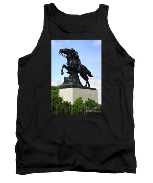 Pony Express Rider Tank Top by Linda Phelps