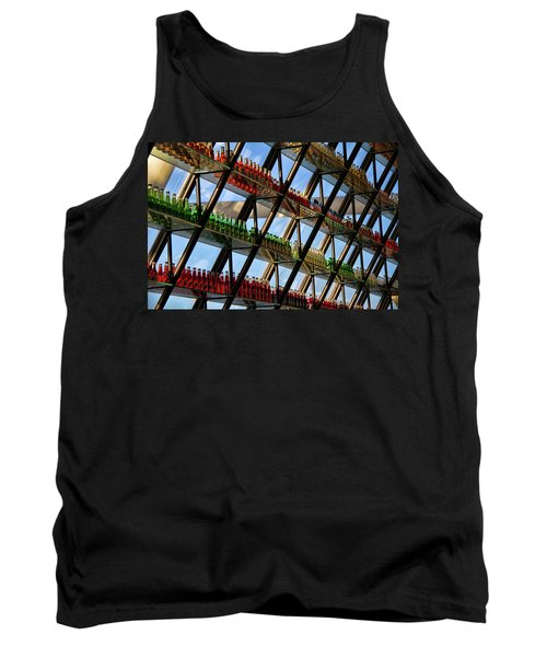 Tank Top featuring the photograph Pop's Bottles by Lana Trussell