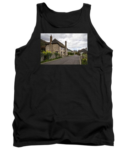Porlock Weir Tank Top by Shirley Mitchell