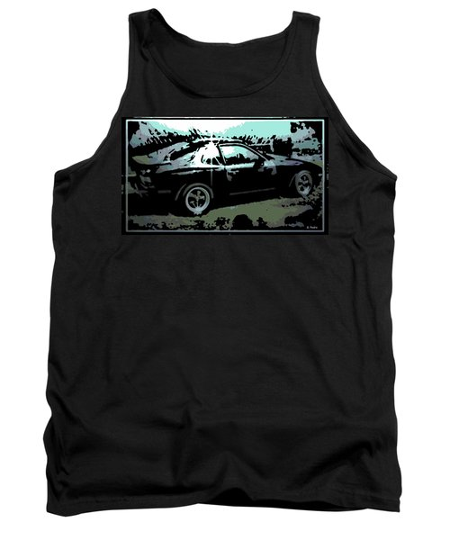 Porsche 944 Tank Top by George Pedro