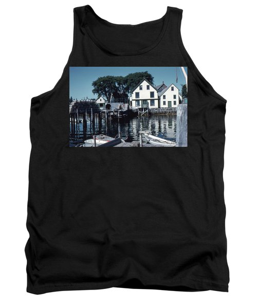 Port Clyde Maine Tank Top