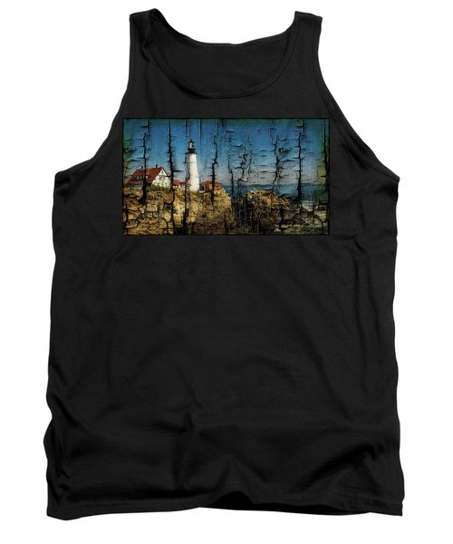Portland Head Lighthouse 5 Tank Top by Sherman Perry
