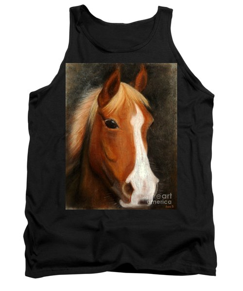 Portrait Of A Horse Tank Top