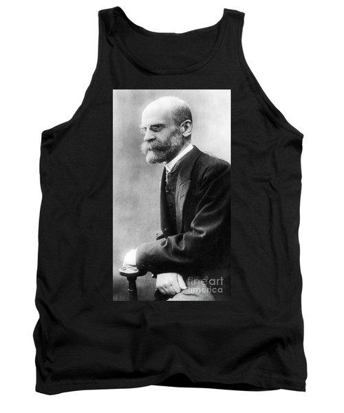 Portrait Of Emile Durkheim Tank Top