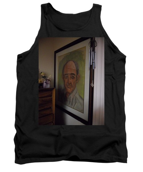 Portrait Of My Dad Tank Top