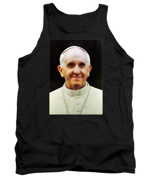 Portrait Of Pope Francis I Tank Top