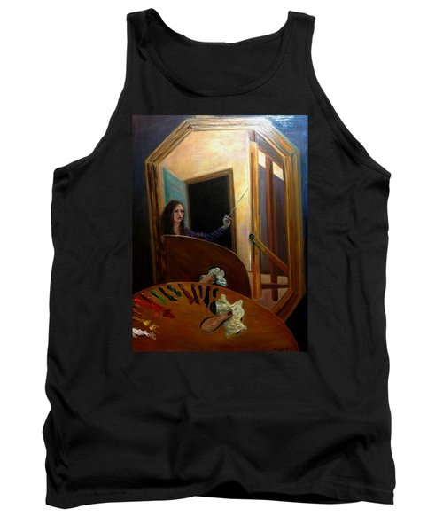 Portrait Of The Artist Tank Top