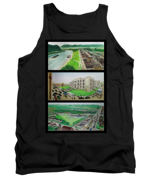 Portsmouth Ohio 1955 Tank Top by Frank Hunter