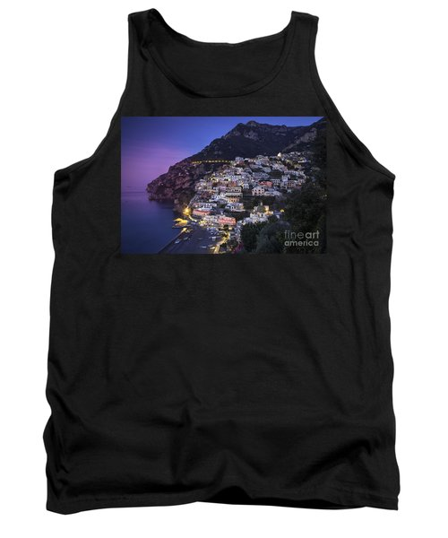 Positano Twilight Tank Top by Brian Jannsen