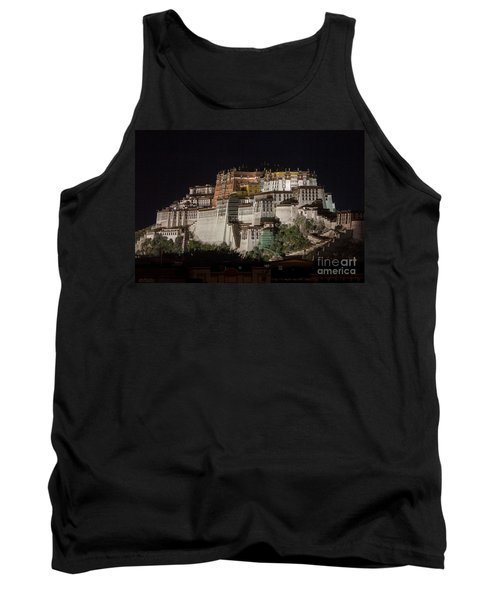 Potala Palace At Night Tank Top