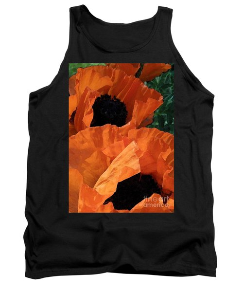 Potent Poppies Tank Top
