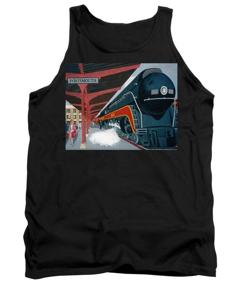 Powhattan Arrow At Portsmouth Tank Top by Frank Hunter