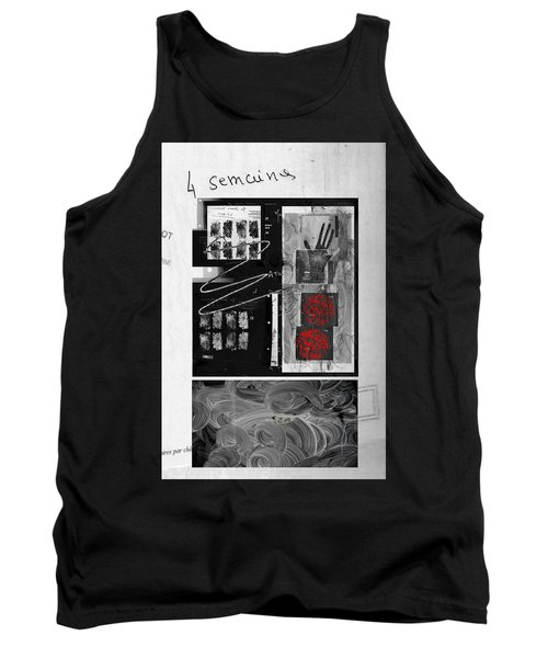 Tank Top featuring the photograph Prescription by Danica Radman