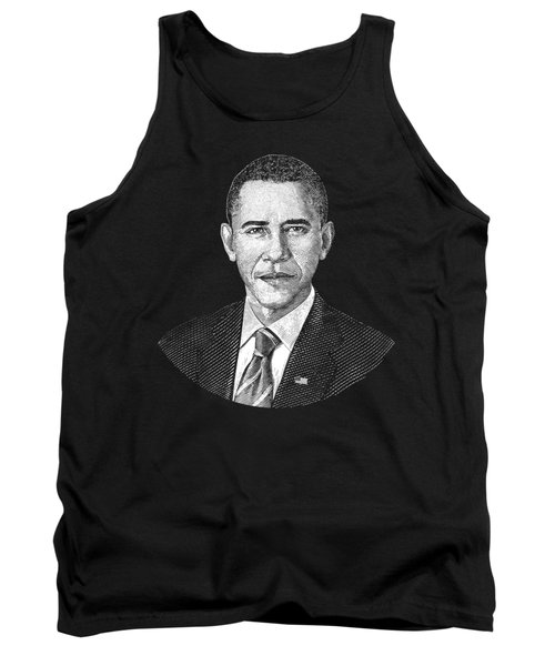 President Barack Obama Graphic Tank Top by War Is Hell Store