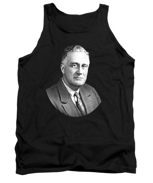 President Franklin Roosevelt Graphic Tank Top by War Is Hell Store