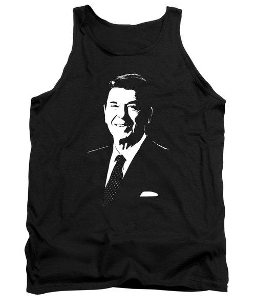 President Ronald Reagan Tank Top