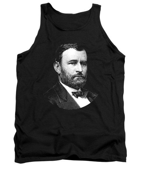 President Ulysses S. Grant Graphic Three Tank Top