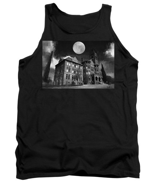 Tank Top featuring the digital art Preston Castle by Holly Ethan