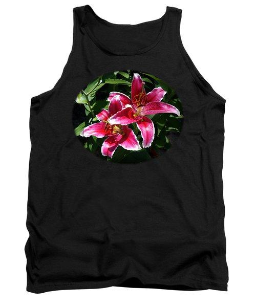 Pretty Lilies Tank Top