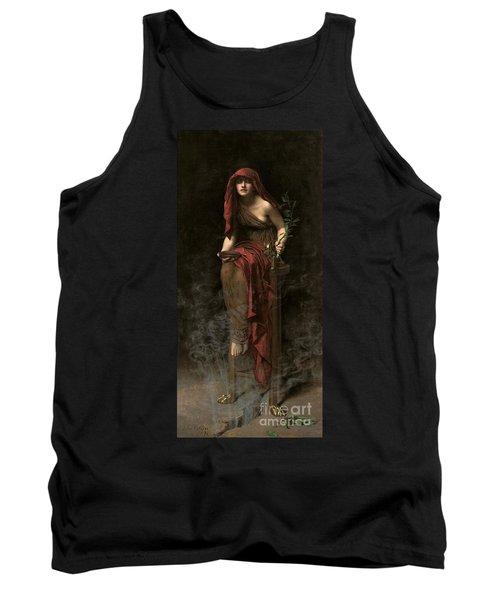 Priestess Of Delphi Tank Top