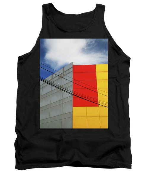 Tank Top featuring the photograph Primarily 1 by Skip Hunt