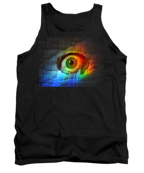Tank Top featuring the photograph Prismaeye by Douglas Fromm