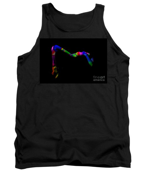 Projected Body Paint 2094947a Tank Top
