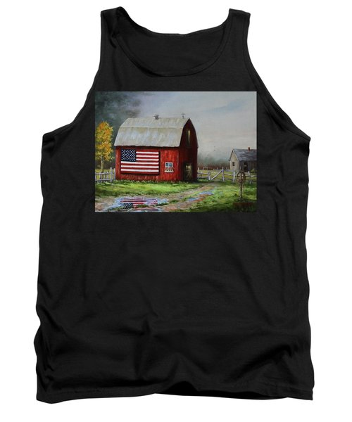 Proud To Be A Puddle Tank Top