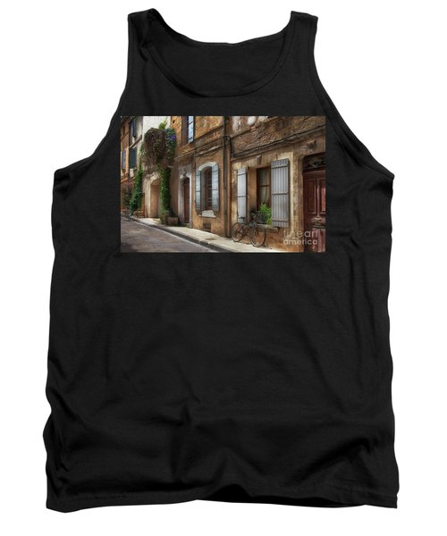 Provence Street Scene Tank Top