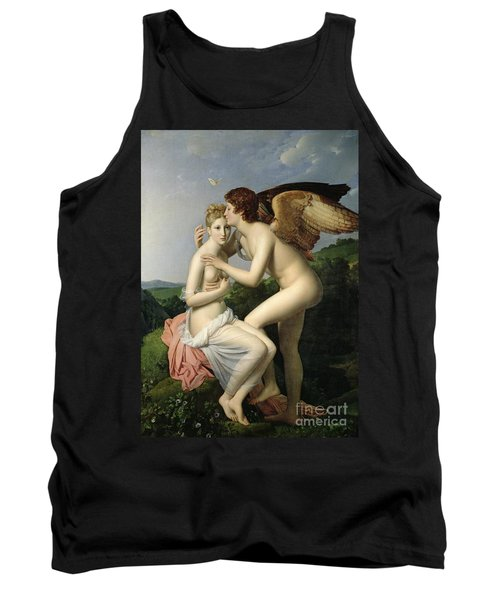 Psyche Receiving The First Kiss Of Cupid Tank Top