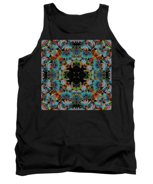 Psychedelic Daisies Tank Top