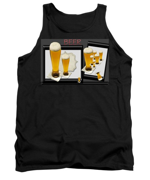 Pub Art Yes Tank Top by Tina M Wenger