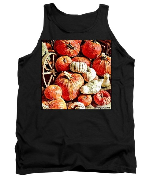 Pumpkins In The Barn Tank Top