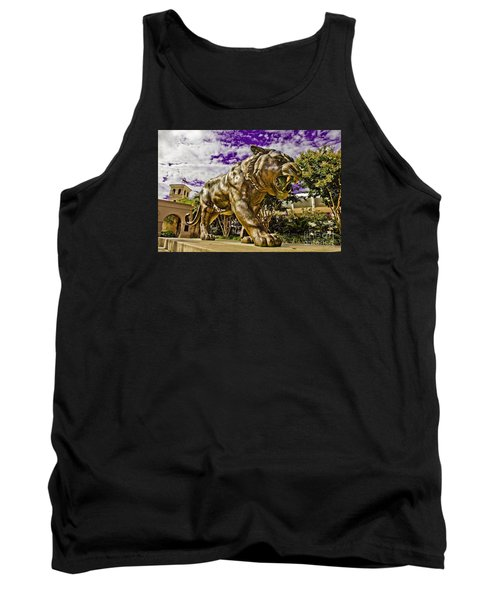 Purple And Gold Tank Top