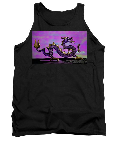 Purple Dragon Tank Top