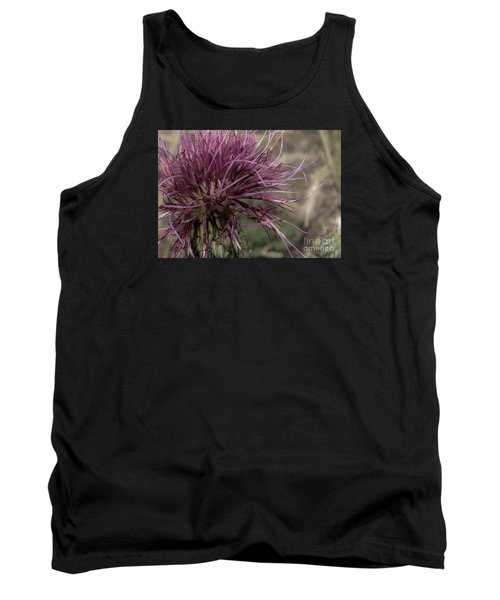 Purple Flower 2 Tank Top