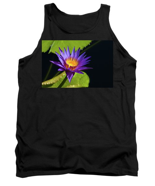 Tank Top featuring the photograph Purple Gold by Steve Stuller