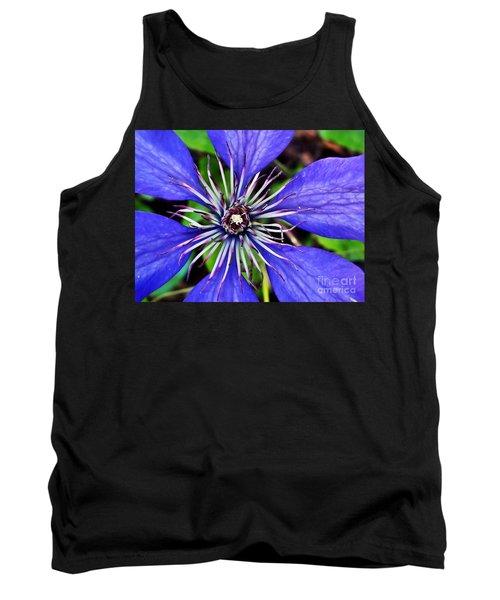 Purple Passion Tank Top by Christy Ricafrente