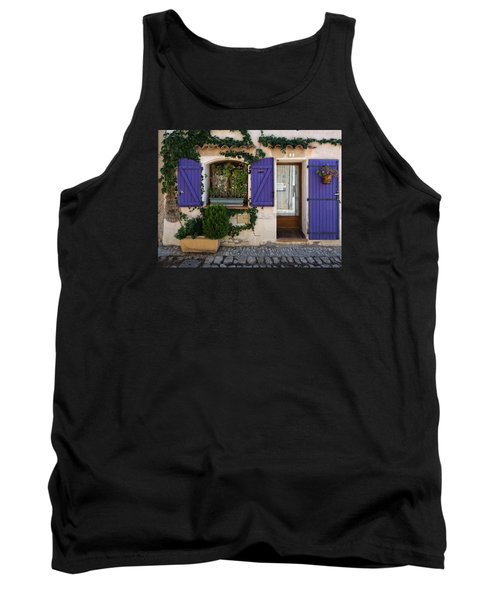 Purple Shutters Tank Top