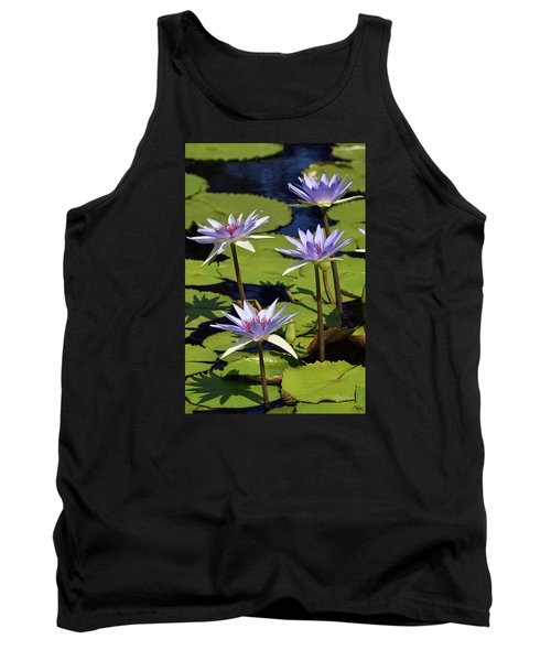 Purple Sparks Tank Top