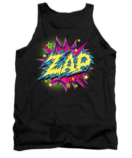 Purple Zap Tank Top