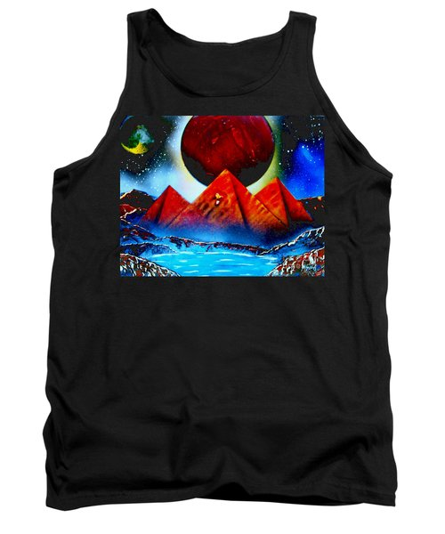 Pyramids 4663 E Tank Top
