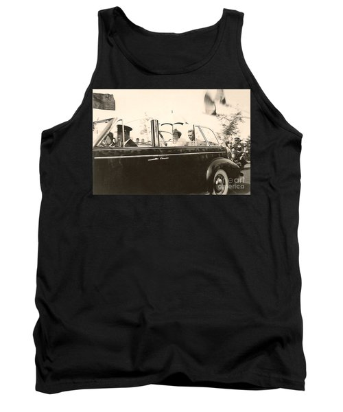 Queen Elizabeth And King George Vi Tank Top