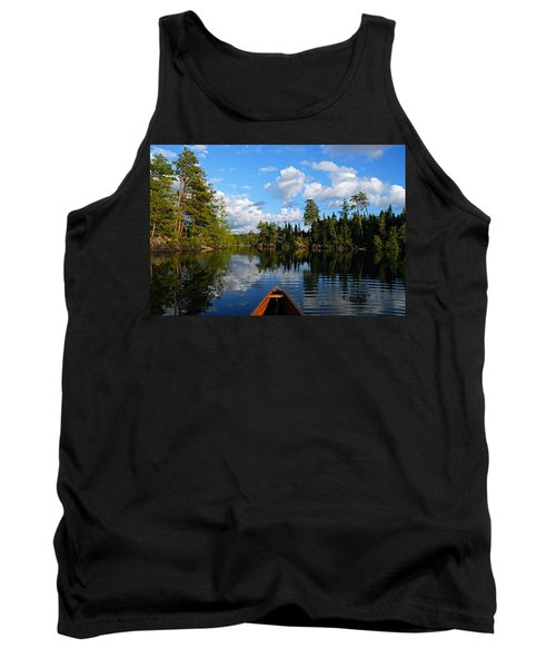 Quiet Paddle Tank Top